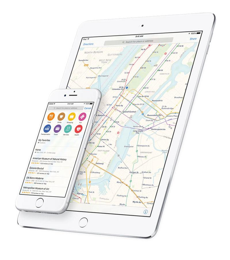 iOS-9-Karten
